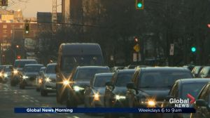 Park Avenue lane changes causing traffic