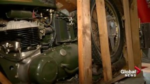 Uncrating a classic: could a vintage motorbike be Calgary's ultimate Father's Day gift?