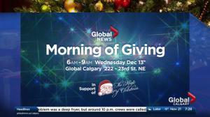 How to help Global Calgary's 2018 Morning of Giving
