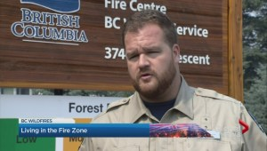British Columbians try and make the most of a smoky situation