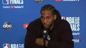 NBA Finals: Kawhi Leonard says staying on Klay and Steph was key in Game 4 win