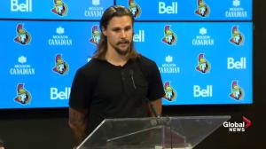 Erik Karlsson on 'emotional, sad day' following trade to San Jose