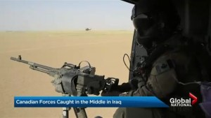 Canadian forces caught in the middle in Iraq