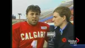 New Calgary Stampeder James Green reminisces about slip of the tongue on live TV
