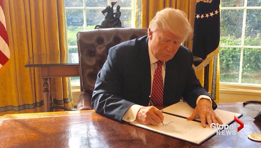 President Trump signs new travel restrictions on eight countries