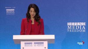 Amal Clooney: Trump making honest journalists more vulnerable to abuse