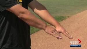 Edmonton Prospects ace has amazing health story