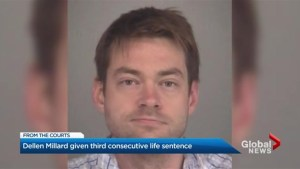 Dellen Millard handed third consecutive life sentence for murdering his father