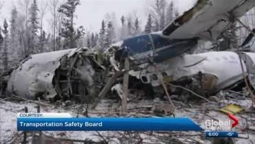 TSB eliminates engine failure as cause of plane crash in northern