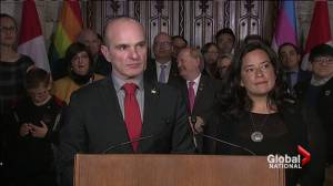 Federal government moves toward ending discrimination in Canada (02:32)