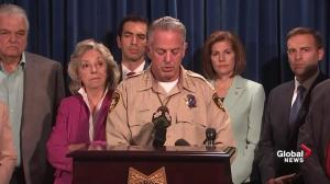 Las Vegas Sheriff says police saved hundreds of lives