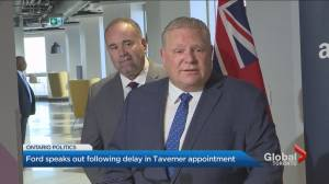 Premier Doug Ford standing by Ron Taverner appointment