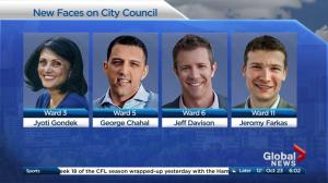Swearing in ceremony Monday for new Calgary city council