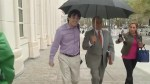Martin Shkreli enters court before getting bail revoked