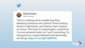 Chris Evans slams Kanye West in viral tweet