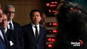 China says ex-Interpol chief faces bribery probe back home