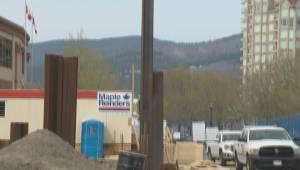 Unauthorized work temporarily stops Kelowna condo tower construction