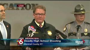 Kentucky State Police provide timeline of Marshall High shooting
