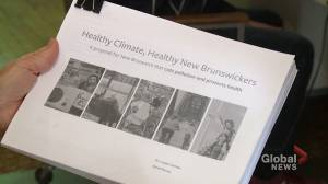 Conservation Council of New Brunswick says climate change is bad for our health