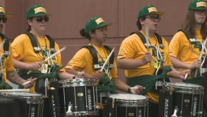 Edmonton Eskimos unveil Hype Team