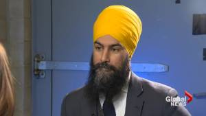 Federal NDP leader Jagmeet Singh speaks about #FirstTimeIWasCalled