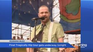 Tragically Hip kick off tour