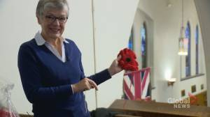 Calgarians to cover church with 7,000 poppies to mark Remembrance Day