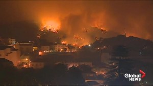 Portuguese wildfires rage on for fourth day