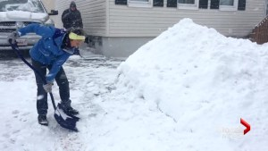 Storm blankets New Brunswick in snow and slush