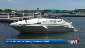 Police kick off boat safety awareness week