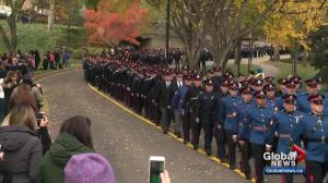 Albertans mark police and peace officers memorial day