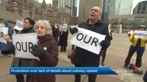 Toronto city council changes tactics to counter provincial subway upload