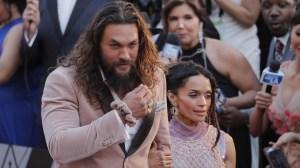Oscars 2019: Jason Momoa, Lisa Bonet honour Karl Lagerfeld in matching outfits