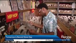 Celebrating music with Record Store Day