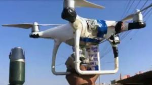 Store-bought drones being retrofitted for war zones