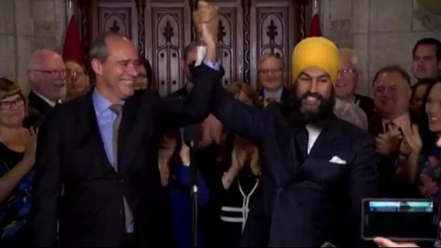 Meet the slick Sikh, Canadian PM Trudeau's new political rival