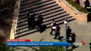 Massive police presence at YouTube HQ in California for reports of active shooter