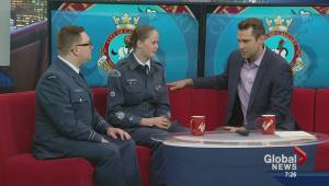 Calgary Air Cadets celebrate 75th anniversary (03:23)