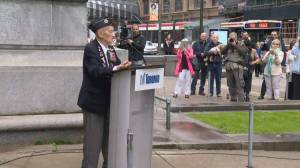 Toronto honours 75th anniversary of D-Day outside of Old City Hall