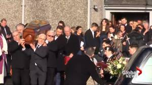 Cranberries singer Dolores O'Riordan laid to rest in home town