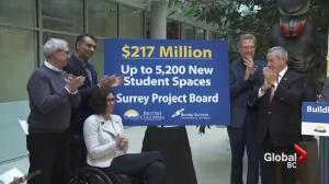New funding announced for Surrey schools