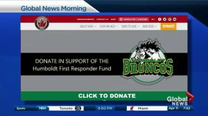 Support for Humboldt First Responders