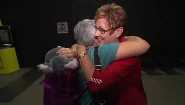 B C  woman finally meets her Australian pen pal after nearly 60