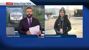 Preparations underway ahead of Sunday's Grey Cup Game