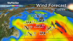 Saskatoon weather outlook: 50 km/h wind gusts, more showers ahead