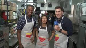Behind the scenes of 2018 McHappy Day with Sophie, Michael and Jay