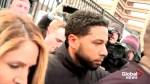 Jussie Smollett freed on US$100K bond after charge laid in 'hoax' attack