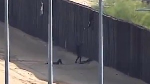Migrants seriously injured after falling from 18-foot-high border wall