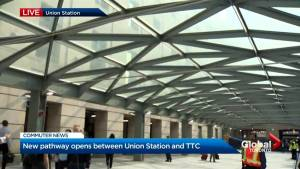 City of Toronto opens new underground pathway at Union Station for commuters