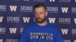 RAW: Blue Bombers Matt Nichols – Aug. 16
